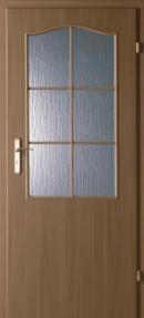Usa de interior Minimax grila mica(alb)usa+toc fix 100 mm+pervaz+maner