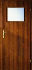 Usa de interior Porta Decor geam mic-usa+toc fix 100 mm+pervaz+maner