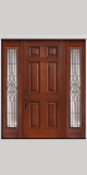 Usa intrare lemn masiv 140x210 cm sau dimensiunea solicitata