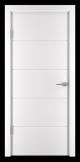 Usa de interior Vopsita Culoare Alb - Standard 2