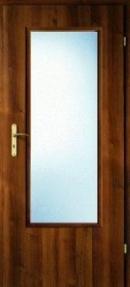 Usa de interior  Porta Decor geam mare-usa+toc fix 100 mm+pervaz+maner