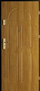 Usa pentru intrare in apartament Agat laminata PVC model 2