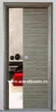 Usa culisanta in perete model Cieca (fara geam), culoare palisandru mediu