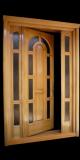Usa intrare lemn masiv stejar