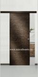 Usa culisanta langa perete Semplice, model Cieca, culoare wenge grey